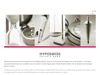 hyposwiss.ch website preview