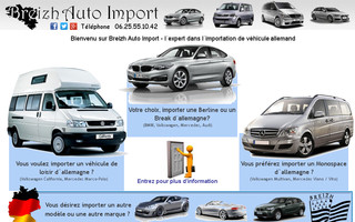 breizh-auto-import.fr website preview