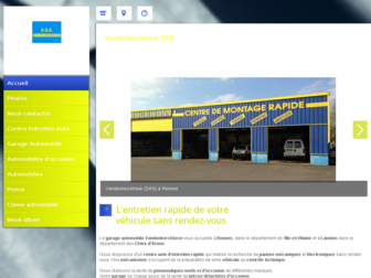 vandenkerckhove.fr website preview