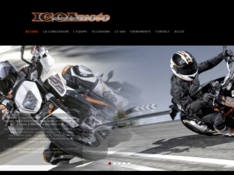 igoa-moto.fr website preview