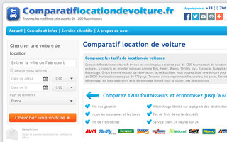 comparatiflocationdevoiture.fr website preview
