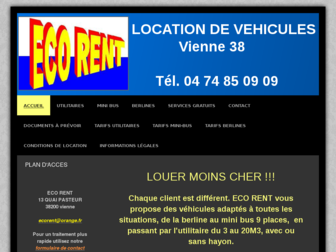 eco-rent.fr website preview