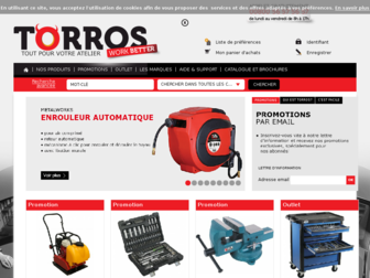 torros.fr website preview