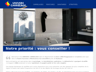 univers-carrelage.fr website preview