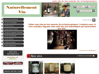 naturellement-vin.fr website preview