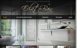 eclatdebain.fr website preview