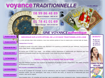 voyance-traditionnelle.eu website preview