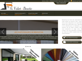 volet-boutic.fr website preview