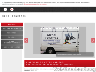 mendi-fenetres-64.fr website preview