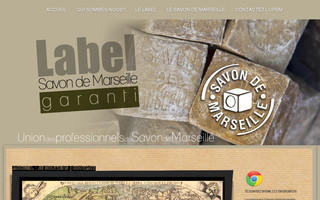 label-savon-de-marseille.fr website preview