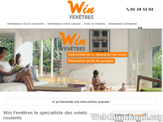 win-stores.fr website preview