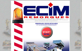 ecim.fr website preview