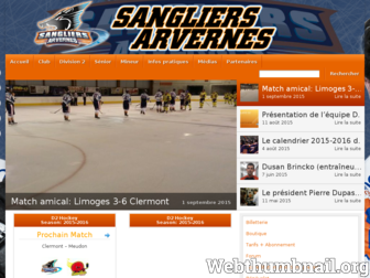 hccalessangliers.fr website preview