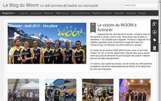 woom.club website preview