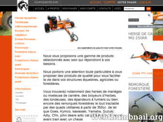 equip-equestre.fr website preview