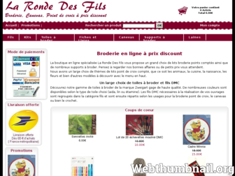 la-ronde-des-fils.fr website preview