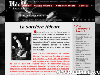hecate.fr website preview