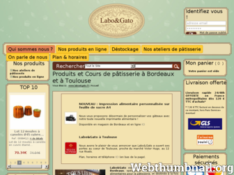 laboetgato.fr website preview