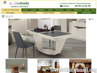 lotusea.fr website preview