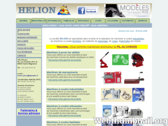 helion.fr website preview
