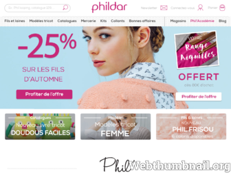 phildar.fr website preview