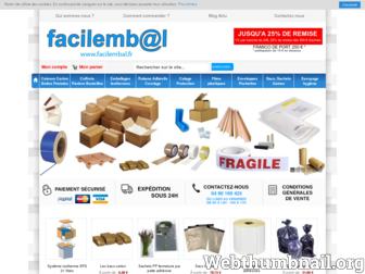 facilembal.fr website preview