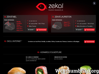 zekai.fr website preview