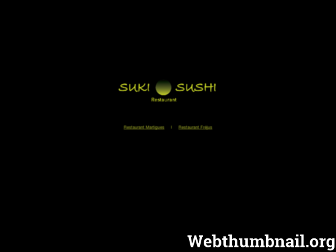 sukisushi.eu website preview