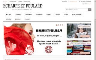 echarpe-et-foulard.fr website preview