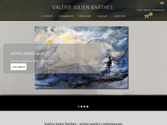 valeriej3-artpaint.fr website preview