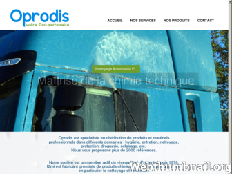 oprodis.fr website preview
