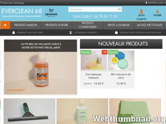 everclean68.fr website preview