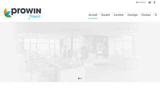 prowin.fr website preview