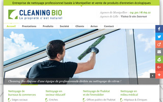 cleaning-bio34.fr website preview