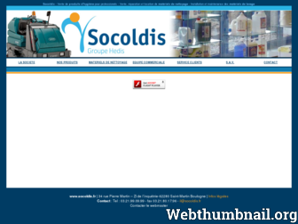 socoldis.fr website preview