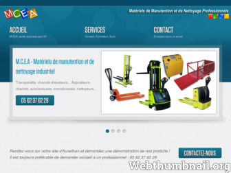mcea.fr website preview