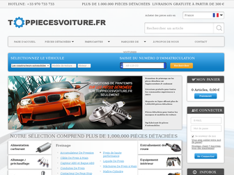 toppiecesvoiture.fr website preview