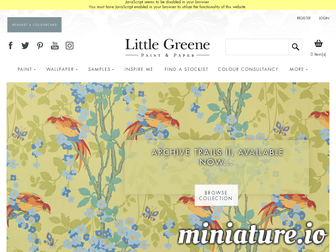 littlegreene.fr website preview