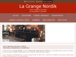 lagrangenordik.fr website preview
