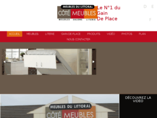 meubles-du-littoral.fr website preview