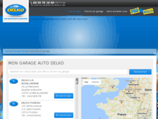 garage.delko.fr website preview