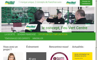 franchisefeuvert.fr website preview