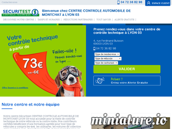 controle-technique-lyon-monchat.securitest.fr website preview