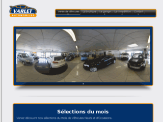 varlet-auto.fr website preview