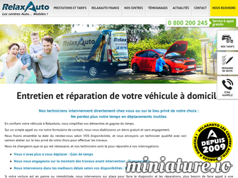 relaxauto.fr website preview