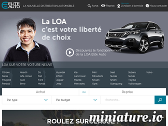 leasing.elite-auto.fr website preview